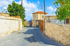 Neo Chorio village Royalty Free Stock Images