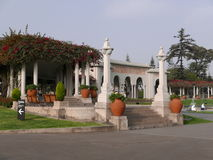 Neo classic architecture in Parque de la Reserva, Lima Stock Photography