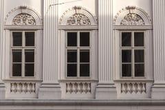 Neo classic facade Stock Photo
