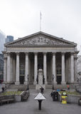 Neo classical building of royal exchange london Stock Photos