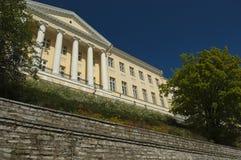 Neo Classical Building in Tallinn Stock Photo