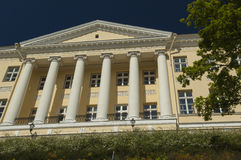 Neo Classical Building in Tallinn Royalty Free Stock Image
