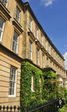 Neo-classical Victorian terrace. Section of neo-classical Victorian terrace, St. Vincent Crescent, Glasgow, by architect, Alexander Kirkland Royalty Free Stock Photography