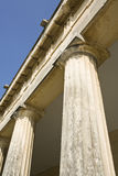 Neo-classicistic columns, Corfu, Greece Royalty Free Stock Images