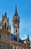 Neo-Gothic Architecture - Post Plaza, Belgium Stock Photo