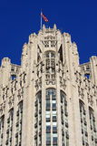 Neo-Gothic Architektur in Chicago Stockfotos