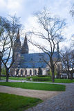 Neo Gothic Basilica, Vysehrad fortress in Prague, Czech Republic Stock Photography