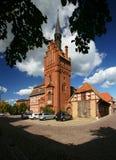 Neo-Gothic Brick Architecture Royalty Free Stock Photos