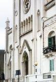 Neo-Gothic Carmelite Parish Church, St Julian`s, Malta.  Royalty Free Stock Photography