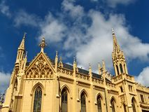Neo-gothic church Stock Image
