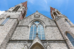 Neo Gothic Church Royalty Free Stock Photography