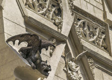 Neo Gothic Church Detail Royalty Free Stock Image