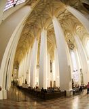 Neo-Gothic Church interier - New Town Hall. New Town Hall , Munich , Bavaria , Germany Royalty Free Stock Images
