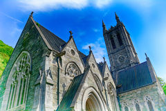 Neo-gothic church, Kylemore, Ireland Stock Image