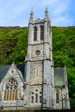 Neo-gothic church, Kylemore, Ireland Royalty Free Stock Image