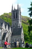 Neo-gothic church, Kylemore, Ireland Royalty Free Stock Photo