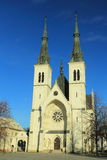 Neo-gothic church in Ostrava Royalty Free Stock Photo