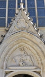 Neo Gothic Church of Saint Martin at Bled lake, Slovenia Royalty Free Stock Image