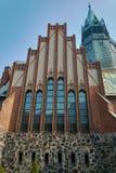 neo-Gothic, Evangelic church Stock Images
