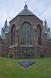Neo-Gothic Falkenberg church Royalty Free Stock Image