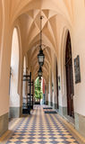Neo-gothic gallery- Jagiellonian University- Cracow,Poland Stock Photography