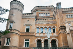 Neo-gothic Narzymski Palace Royalty Free Stock Image