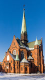 Neo-Gothic St. Joseph church Stock Images