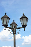 Neo-gothic street light Stock Images