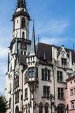 The neo-Gothic town hall. Built between 1862-1864, designed by Alexis Langer from Wroclaw Stock Photos