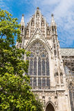 Neo-Gothic Votive Church (Votivkirche) In Vienna Stock Photos