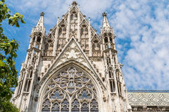 Neo-Gothic Votive Church (Votivkirche) In Vienna Royalty Free Stock Image