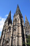 Neo-gotisch - St- Mary` s Kathedrale stockbild