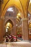 Neo-gotisk holländsk domkyrka Arkivbilder