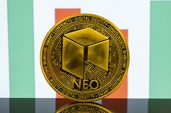 Neo is a modern way of exchange and this crypto currency. Is a convenient means of payment in the financial stock images