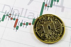 Neo is a modern way of exchange and this crypto currency. Is a convenient means of payment in the financial and web markets royalty free stock photos