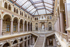 Neo renaissance building of the palace of Justice in Vienna Stock Image