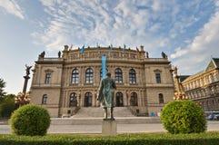 Neo-renaissance building Rudolfinum Stock Images