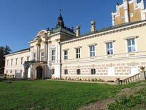 Neo-Renaissance chateau Svetla nad Sazavou, the main wing of the building. Czech republic monument stock images