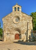 Neo-romanesque church of Nossa Senhora da Conceicao royalty free stock photo