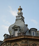 Neo-Romanian architecture, Bucharest Royalty Free Stock Photography
