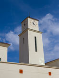 Neo Spanish Clock Tower Royalty Free Stock Photography