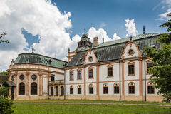Neobaroque manor house in Klatova Nova Ves Stock Photos