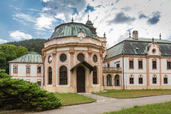 Neobaroque manor house in Klatova Nova Ves Royalty Free Stock Images