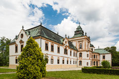Neobaroque manor house in Klatova Nova Ves Stock Image