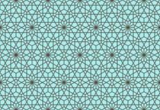 Neoclassic Bezszwowy orientalny wz?r islamski t?o Arabska liniowa tekstura r?wnie? zwr?ci? corel ilustracji wektora ilustracji