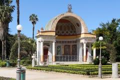 Neoclassic bouw, Palermo stock afbeeldingen