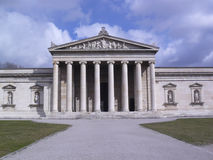 Entrance at the Glyptothek in Munich Royalty Free Stock Photography