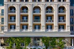 Neoclassic Building Facade. Facade of a neoclassical building Stock Image