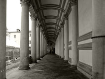 Neoclassical architecture in Novara Royalty Free Stock Images