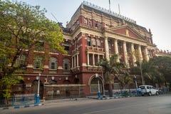 Neoclassical arkitektoniska författare som bygger ett hus av sekretariatet som lokaliseras i bet B D Påseområde av Kolkata Arkivbilder